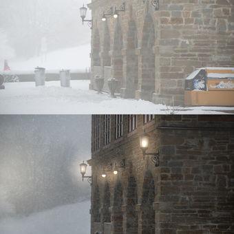 Zimní Javořina