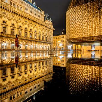 Národní divadlo ve zlaté chvilce