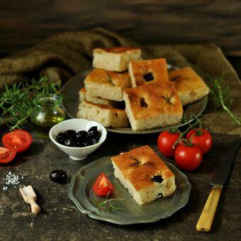 Focaccia - italský bílý chléb