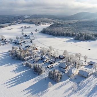Krajina posedlá mrazem