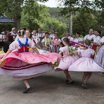 Ze života na vesnici v Podještědí