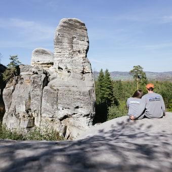 My 2 ve skalách, Hruboskalsko