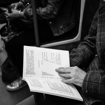 V metru města pražského