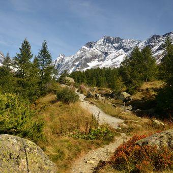 Chodníky v Lotschentalu (CH)