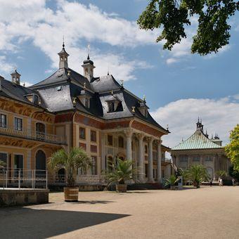 ...zámek Pillnitz...
