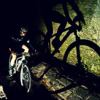 Stín v tunelu