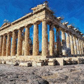 Athény Akropolis