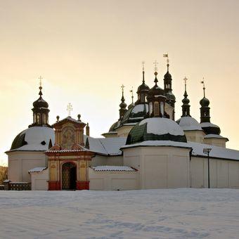 Poutní kostel Klokoty...