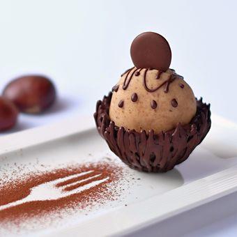 Gaštanovo- čokoládová dobrôtka