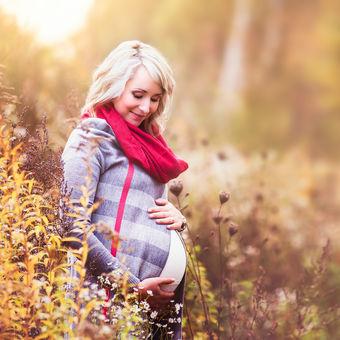 Krásná budoucí maminka Janča