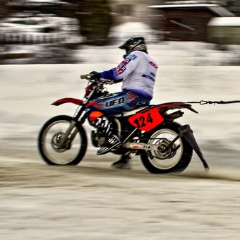 MČR ORION - SHIVA KTM CUP 2017 v motoskijöringu