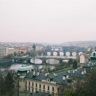Praha z kinofilmu