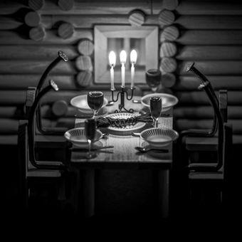 Štědrovečerní večeře - KAPR NAČERNO