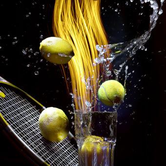 Když si tenista dopřeje limonádu