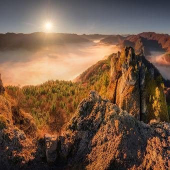 Súľovská panoráma