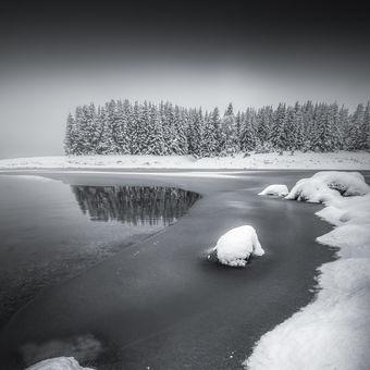 Fláje v zimě