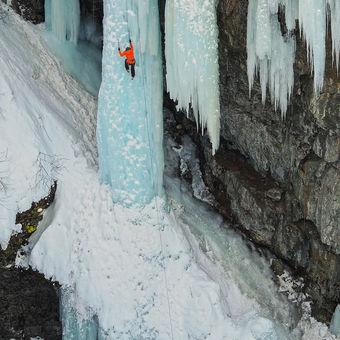 Lezení na ledu