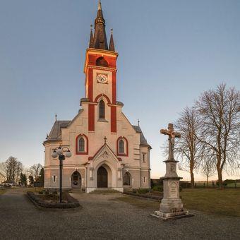 Kostel svatého Antonína Paduánského - Melč