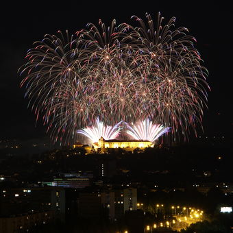Druhý ohňostroj nad Brnem - soušást festivalu Ignis Brunensis 2021
