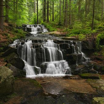 Vodopády Hučavy