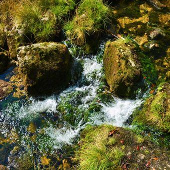 Josefův Důl řeka kamenice