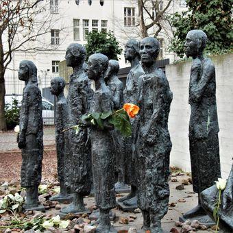 Památka židovskému obyvatelstvu Berlína.