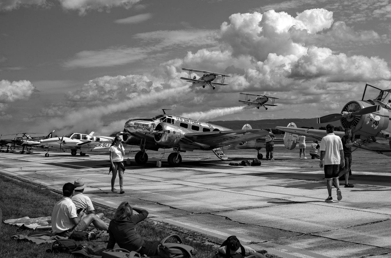 Letecký den v Chebu