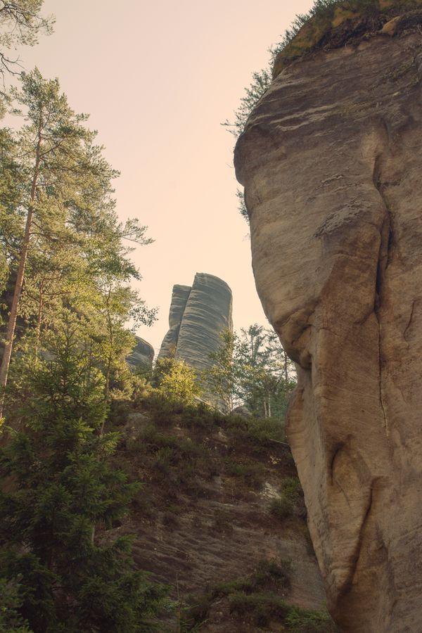 skalní útvar Koberce
