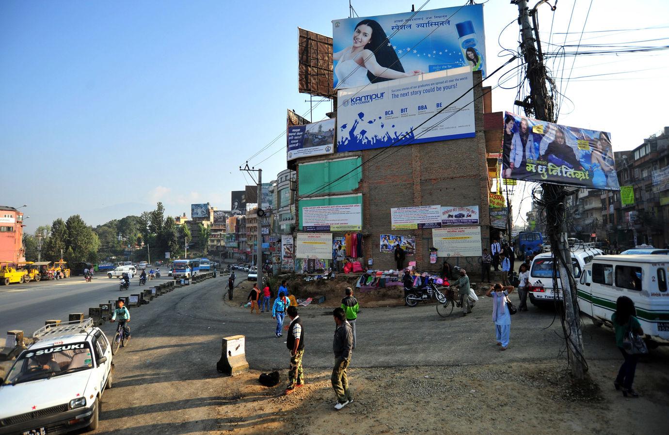 Ulice v Kathmandú