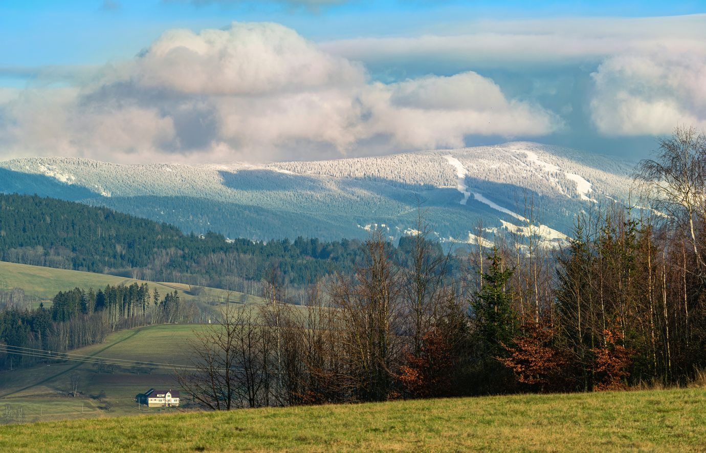 Západní Krkonoše - předposlední den roku