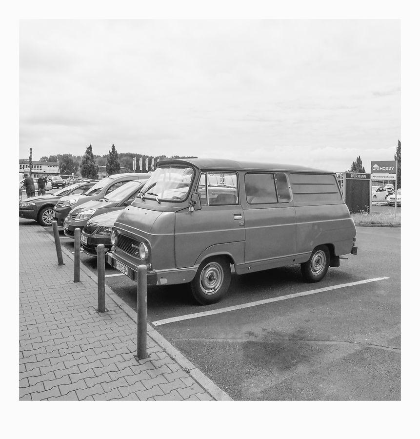 Škoda 1203 v Chomutově