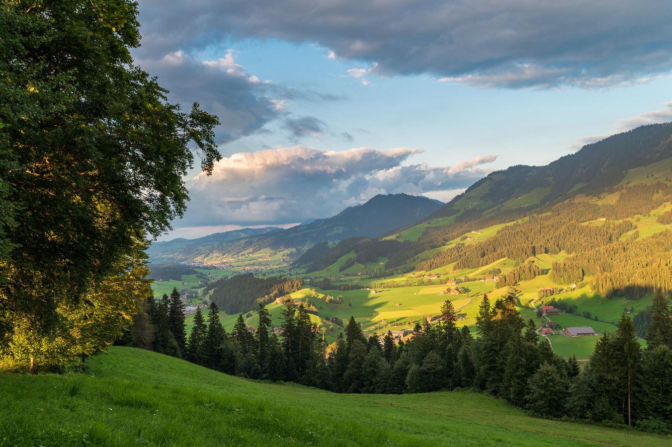 Švýcarský venkov