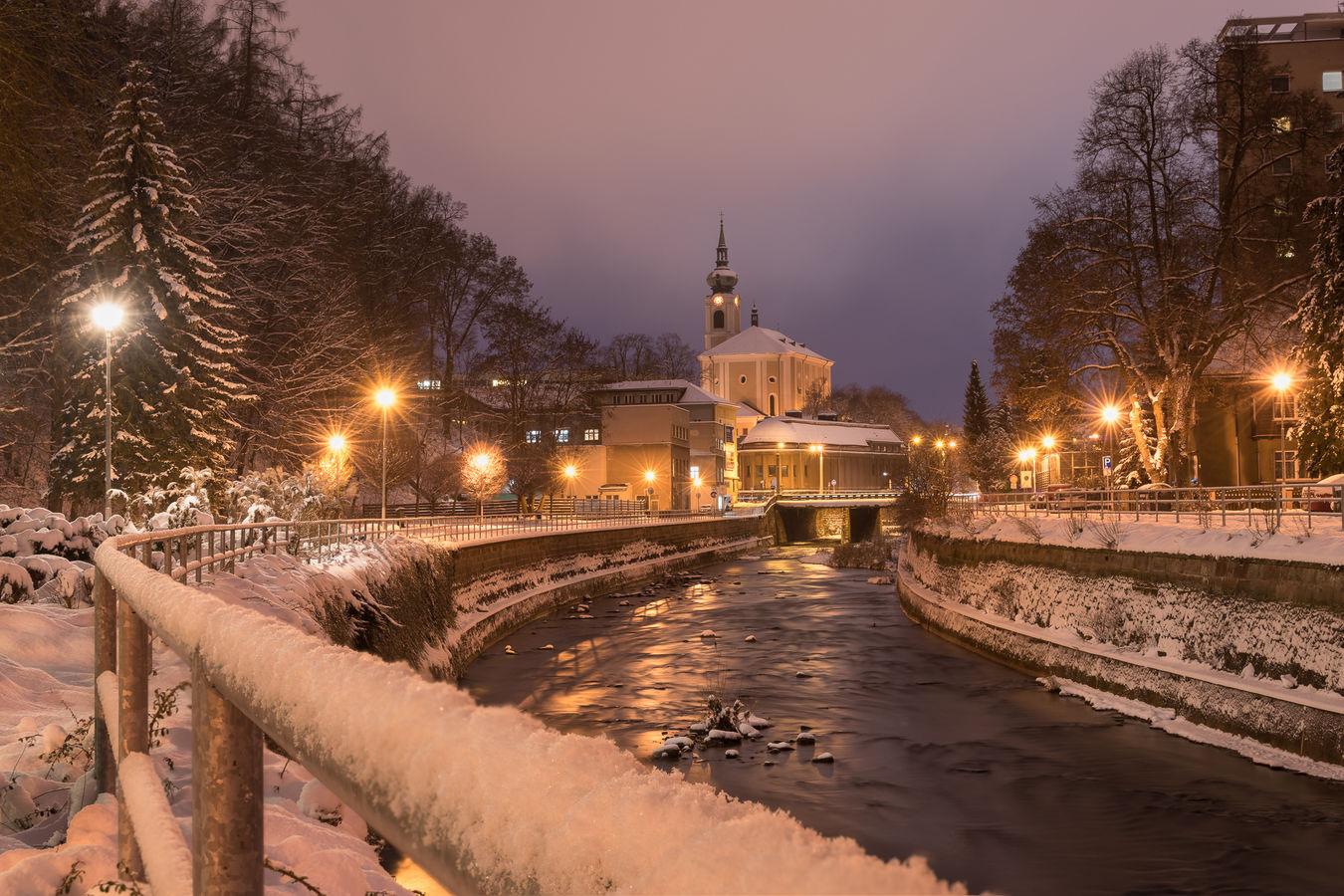 Pravá zima v Trutnově