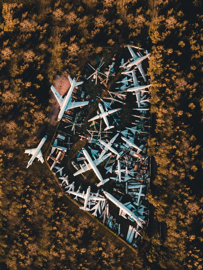 Kde končí opuštěná letadla
