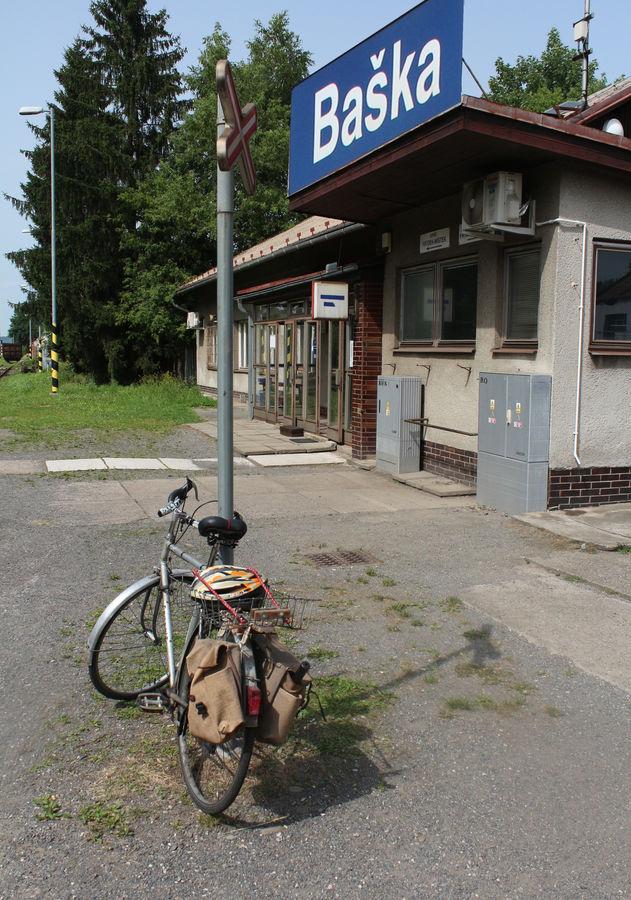 Výchozí bod cyklotoulek v Podbeskydí