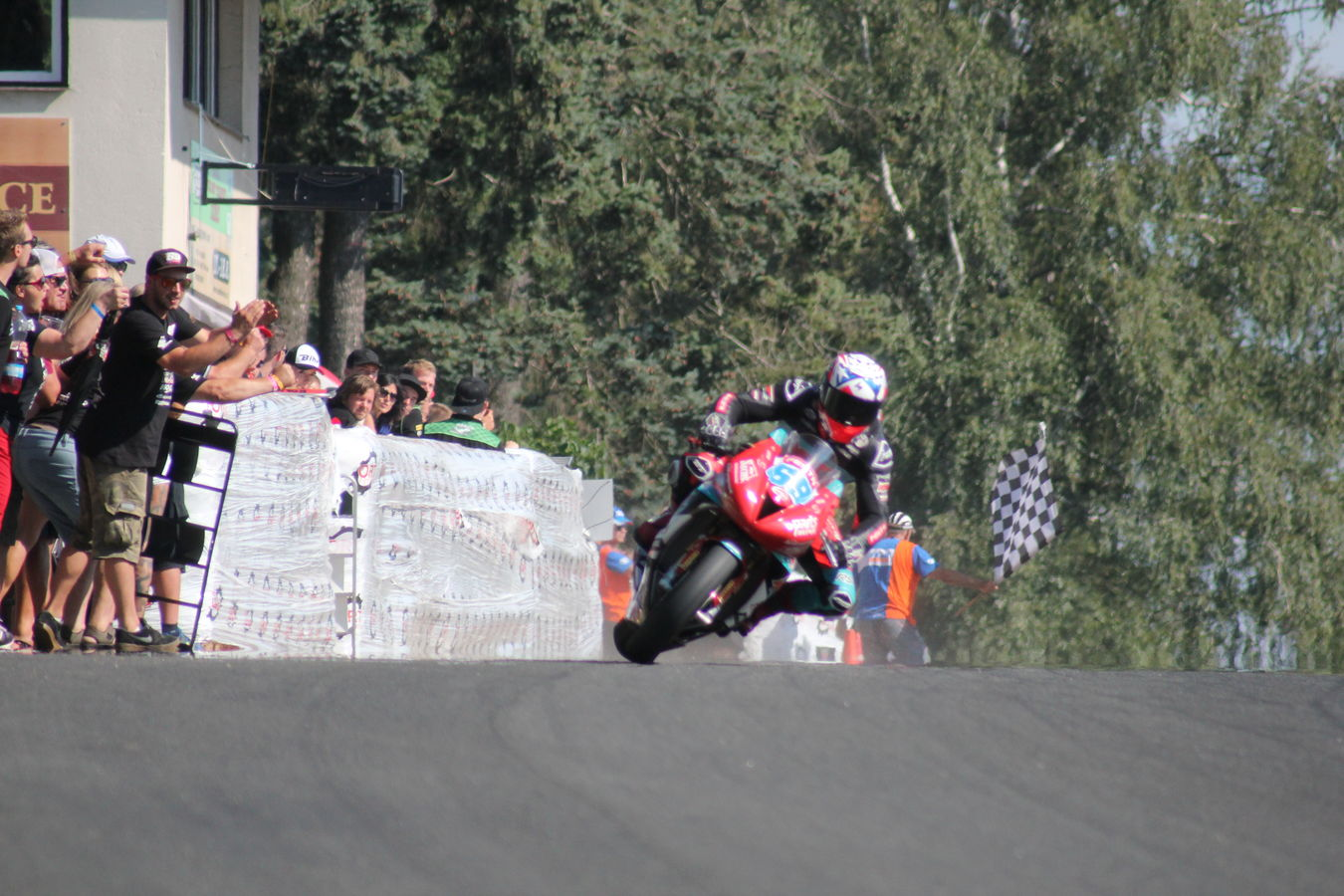 Sladké vítězství v Hořických závodech
