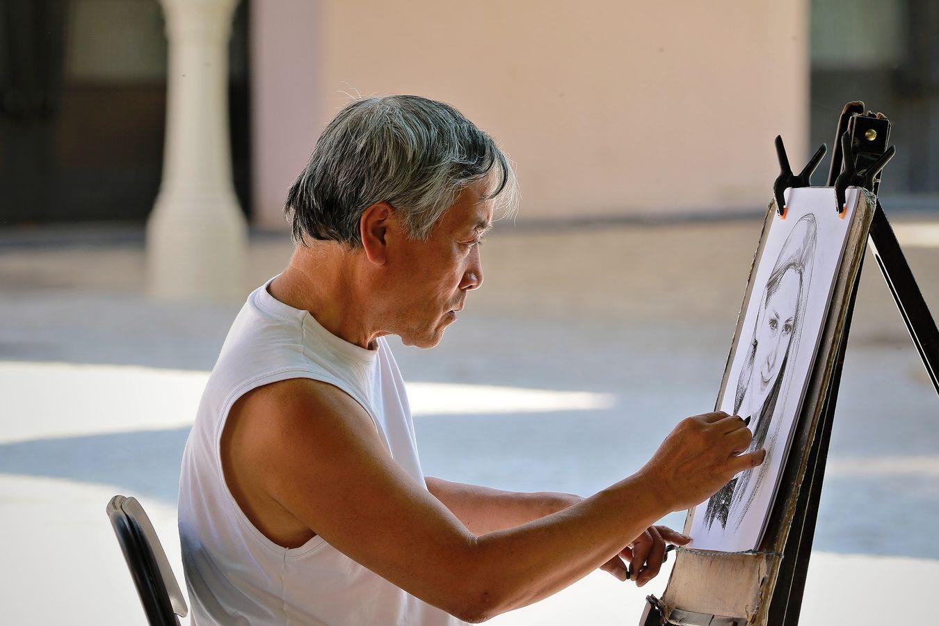 Pouliční malíř