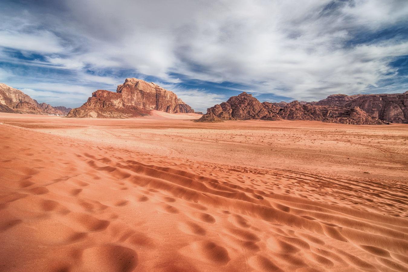 Z pouště Wadi Rum 4...