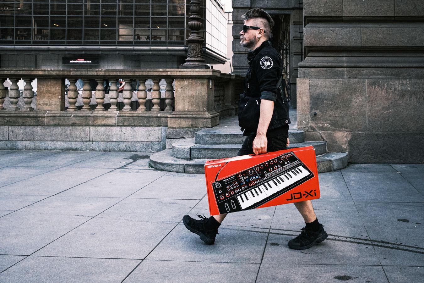 V ulicích města pražského