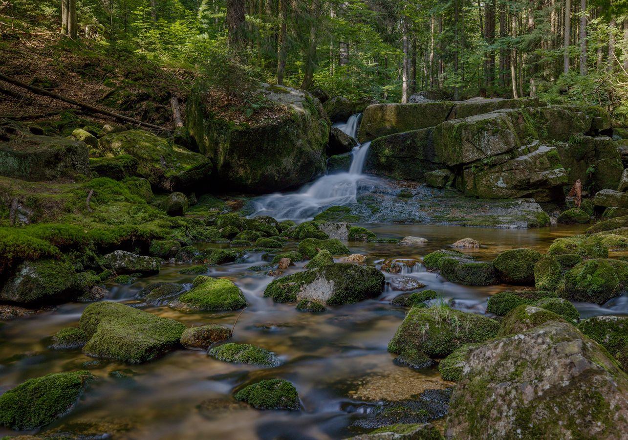 Dolní vodopád - Jedlový důl