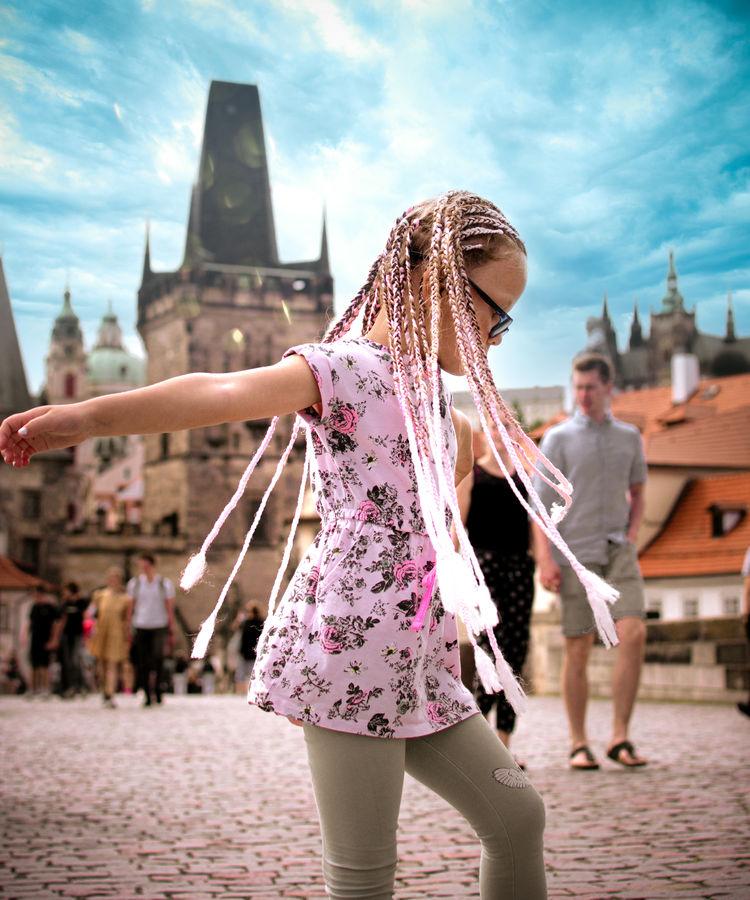 Tanečnice z Karlova mostu