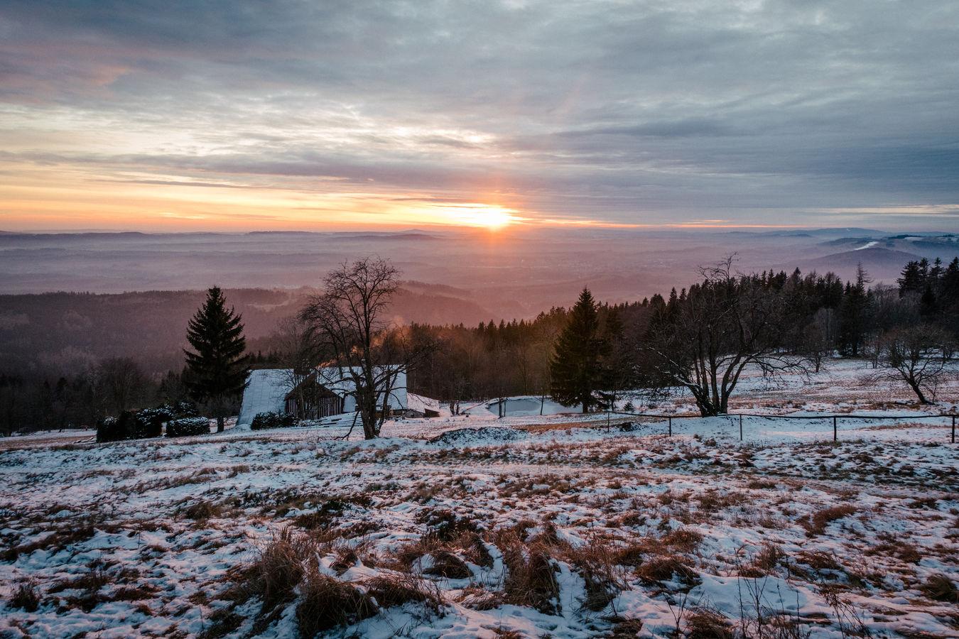 Vánoční pozdrav z Černé hory, Krkonoše