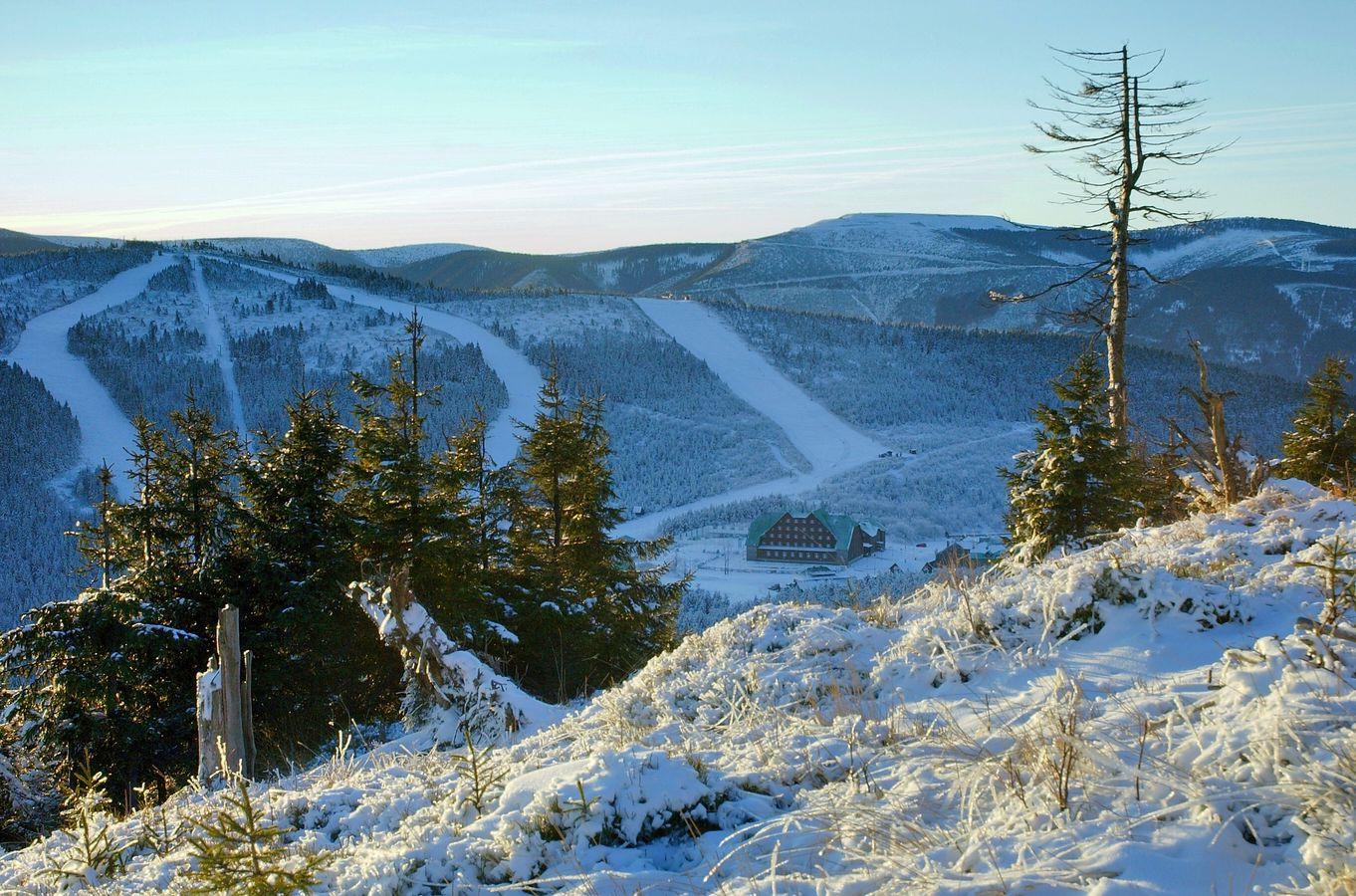 První sníh na Č.S.