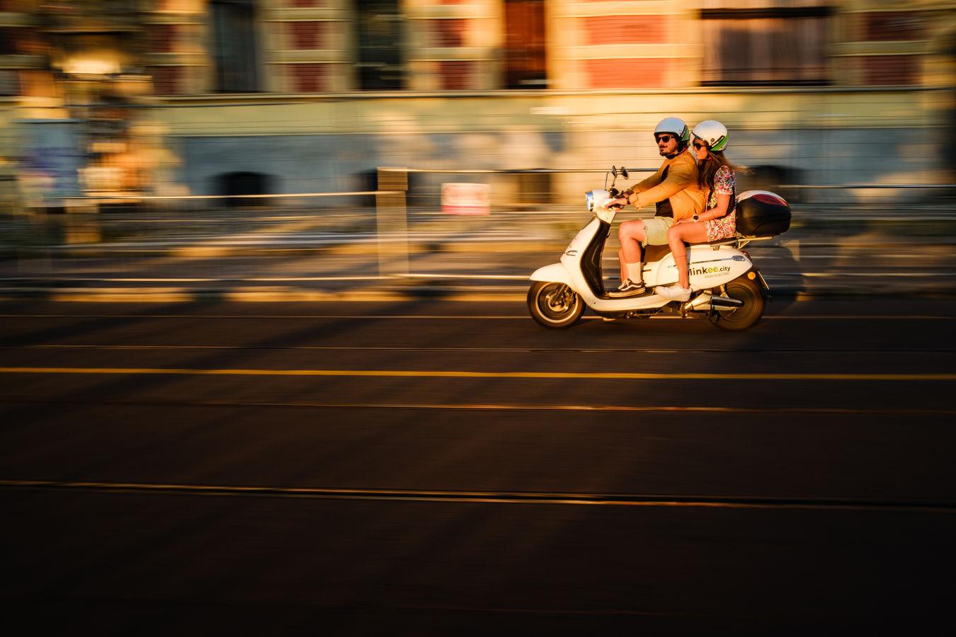 Rychlá jízda městem pražským
