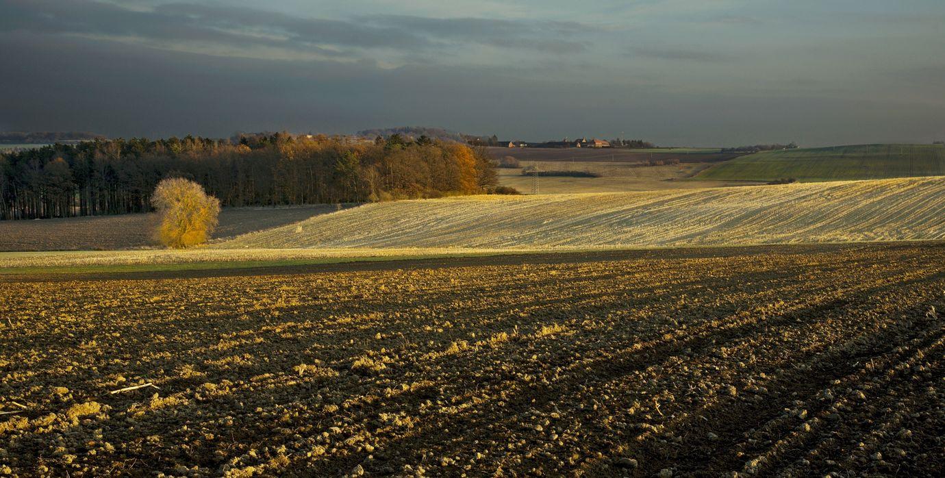 Krajina před setměním