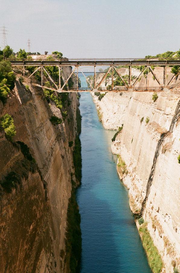 Dobrodružství s Analogem I. - Korintský kanál, výlet začíná