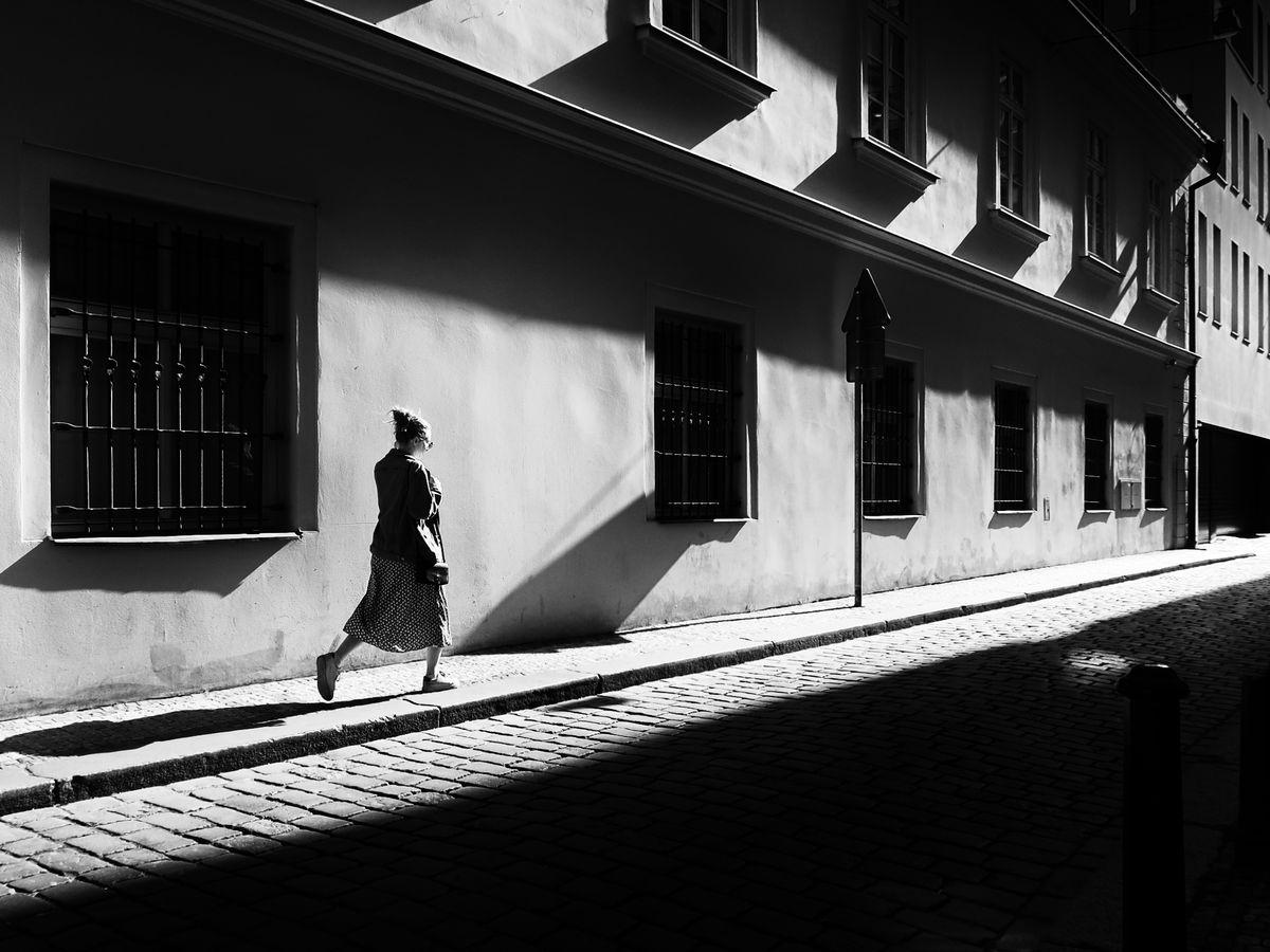 V pražských uličkách