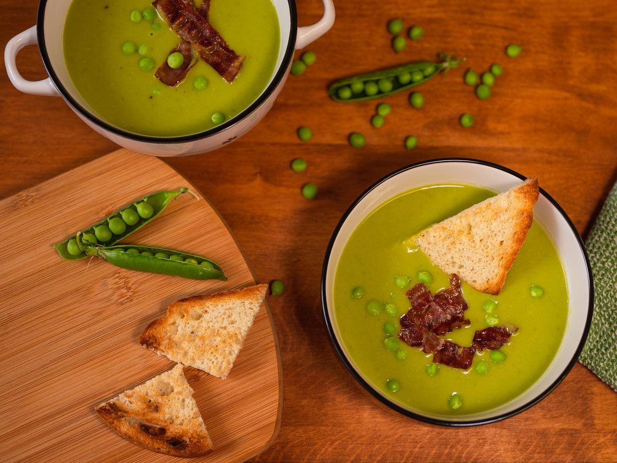 Hrášková polévka