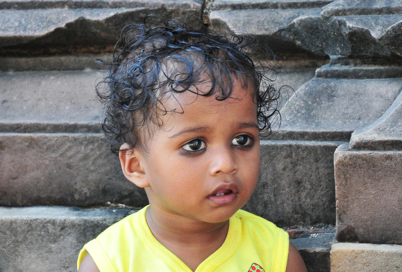Indické děvčátko