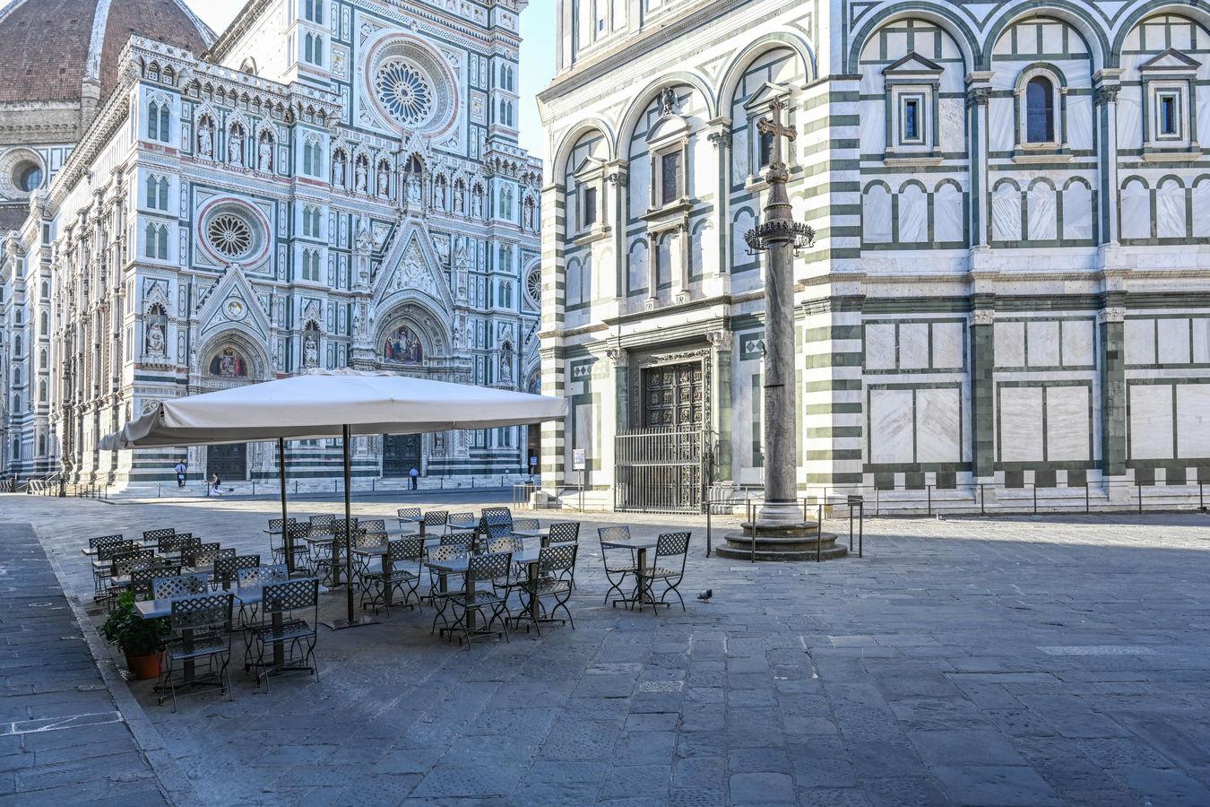 Ráno ve Florencii